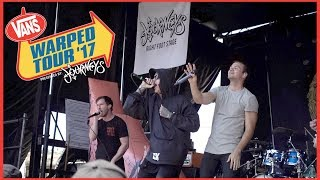 Dance Gavin Dance - Chucky Vs The Giant Tortoise (LIVE at Warped Tour 2017) Feat. Fronz!
