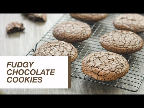 Fudgy Chocolate Cookies | Food Channel L Recipes