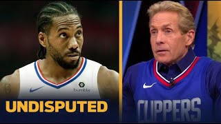 UNDISPUTED | Skip Bayless : Should this loss concern Kawhi & Paul George their chances in the West?