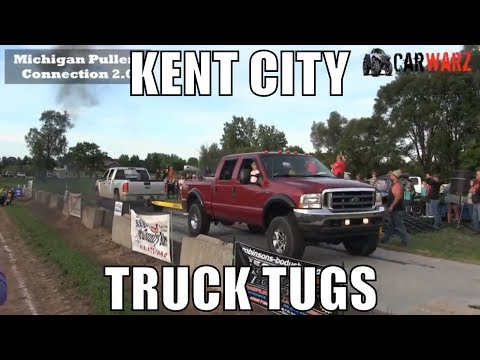 Truck Tug Of War From WMP At Kent City Michigan 2018