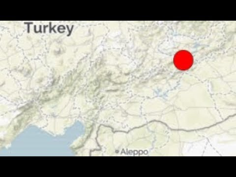 Turkey Rocked By Strong M6.7 Earthquake, Suspicious Ground Level Quake at Nellis Air Force Base