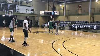Marcus Smart beats Kyrie Irving, Jaylen Brown and Terry Rozier in 3-Point Game
