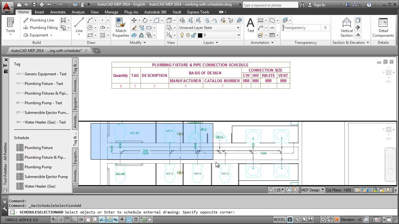 Creating A Piping System Autocad Mep 2013 – Desenhos Para Colorir