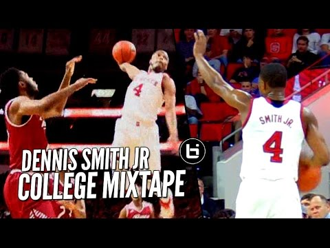 Dennis Smith Jr DOMINATING At NC State! OFFICIAL College Mixtape!