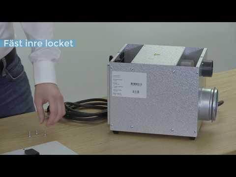 Service och filterbyte Acetec EvoDry 6H