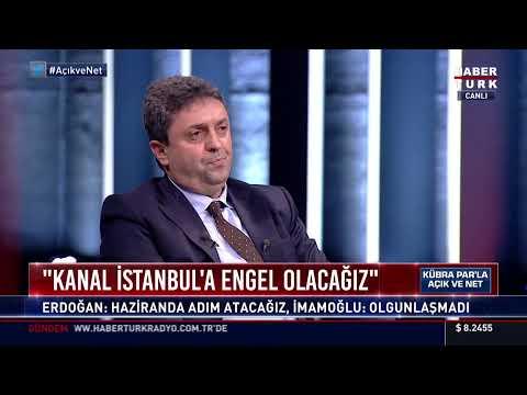 Açık ve Net'te Kanal İstanbul projesi konuşuluyor… #YAYINDA