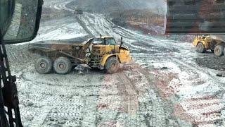 Drifting a 40 Ton Dump Truck