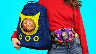 DIY Animal Friendly Pet Carrier Bags