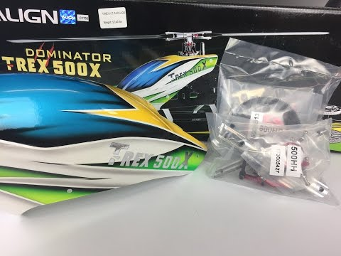 What's New - Align T-Rex 500X Helicopter