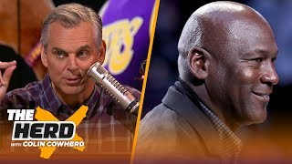 Colin Cowherd on why Michael Jordan sells more shoes than any current NBA player | NBA | THE HERD