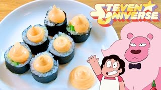 How to Make SNACK SUSHI from Steven Universe! Feast of Fiction S6 E8