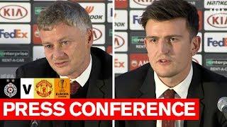 Pre Match Press Conference   FK Partizan v Manchester United   UEFA Europa League