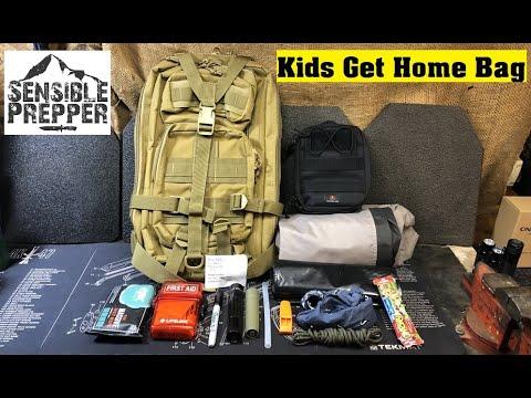 Kids Get Home Bag Kit