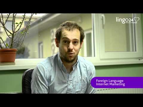 Lingo24 - Christian Arno on 2011 - YouTube