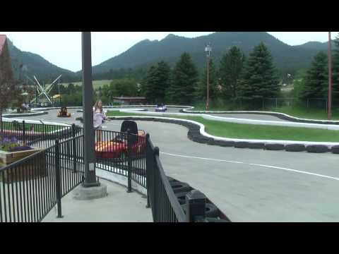 Reckless driving on the go-karts at Estes Park 07-28-2010