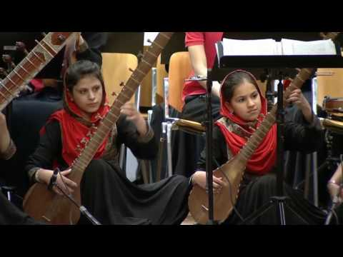 """Davos 2017 Leadership beyond Borders The Afghan Womens Orchestra """"Zohra"""""""