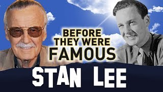 STAN LEE | Before They Were Famous | MARVEL