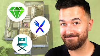 Random Pack for Every Room in The Sims 4! (Build Challenge)