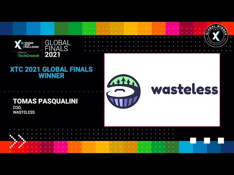 Extreme Tech Challenge Global Finals: Startup Pitches Part 1 - Wasteless