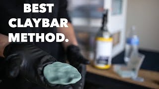 Claybar most cars in 10 minutes with this process