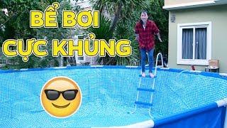Bể Bơi Mới Khổng Lồ Siêu Khủng Của Chị Thơ Nguyễn