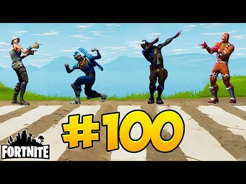 Fortnite Funny Fails and WTF Moments! - #EPISODE 100 SPECIAL (Daily Moments)