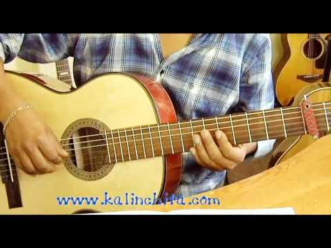 Marabu - Lucho Barrios - Como tocar en guitarra
