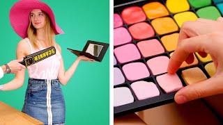 11 Ways to SNEAK SNACKS into a PLANE! Funny Situations & Smart DIY Ideas by Crafty Panda
