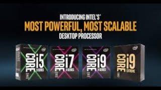 كل انواع معالجات انتل و خاصيات جديدة سلسلة (Intel processors ...