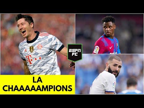 VUELVE LA CHAMPIONS. Bayern Munich sigue como favorito. Real Madrid y Barcelona, a mejorar   ESPN FC