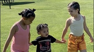 Quarantine with Stormi, Chicago, and North West