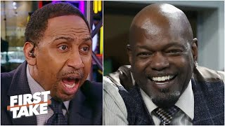Emmitt Smith 'should be ashamed of himself for going at Dak Prescott!' - Stephen A. | First Take