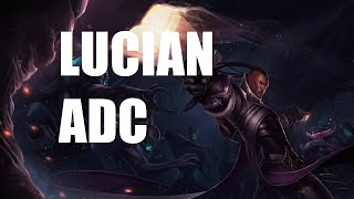 League of Legends Ranked – Lucian ADC – Full Game Commentary
