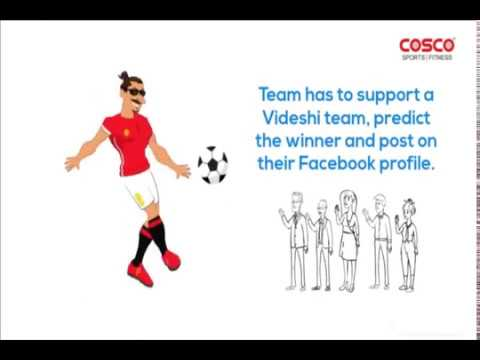 Participate in Cosco contest - ''Goalchie'' for FIFA World Cup 2018