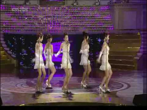 Wonder Girls -  Nobody (2008 Blue dragon award)청룡영화제