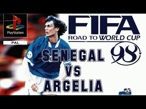 FIFA: Road to World Cup 98 (1997) - PlayStation - Senegal vs Argelia