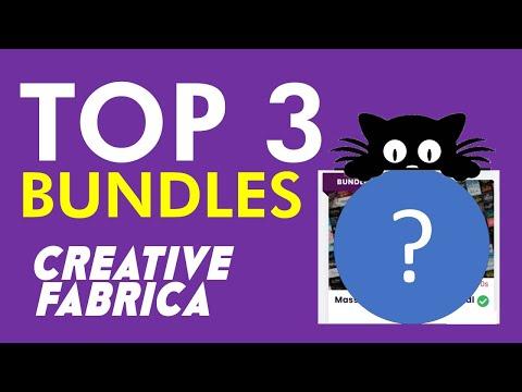 TOP 3 Creative Fabrica BUNDLES