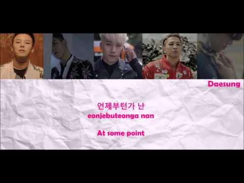 BIGBANG - LOSER Lyrics (Color Coded) [Han/Rom/Eng]