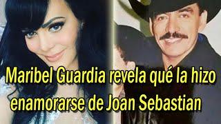 Maribel Guardia revela qué la hizo enamorarse de Joan Sebastian