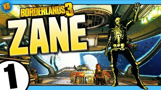 Borderlands 3   Zane   Road to Mayhem Day #1 - Funny Moments & Legendary Loot