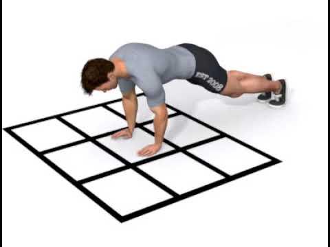 KOMPAN - Grid - Push up