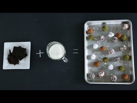Making Smooth and Chocolaty Truffles- Kitchen Conundrums with Thomas Joseph
