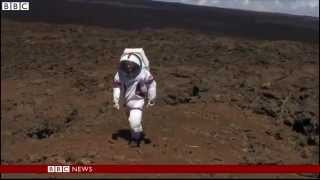 BBC News Nasa starts year long isolation to simulate Mars trip
