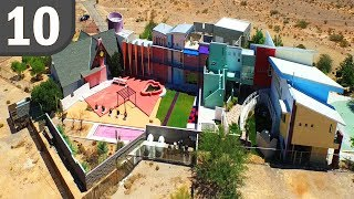 Top 10 Weird and Crazy Celebrity Houses