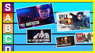 All Apex Legends Trailers Tier List