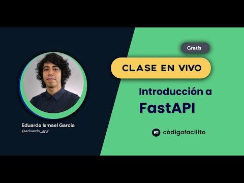 Clase gratuita: APIs con Python usando Fast API