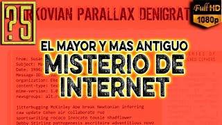 El Mayor y más Antiguo Misterio de Internet: Markovian Parallax Denigrate