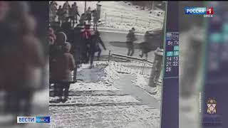 Личность водителя, протаранившего толпу студентов на улице Ленина, установлена