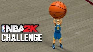 Giant Players VS Tiny Players - NBA2K Challenge Edition