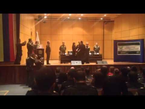Entrega CERTIFICADO ISO/IEC - 27001:2005 -Policía Nacional